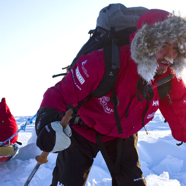 Walking With The Wounded North Pole Jaco Van Gass